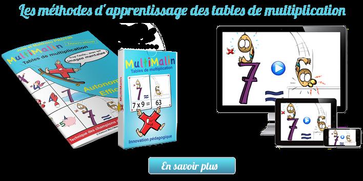 Les astuces des logop des pour aimer les multiplications - Apprentissage des tables de multiplication ...